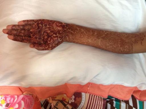 Beautiful Full Hand Feet Mehndi Designs For Events 2015 5