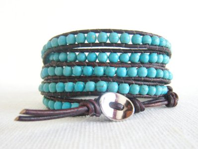 New Styles Of Casual Bracelets Made From Turquoise 2015 11