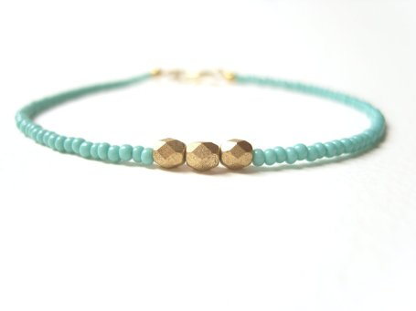 New Styles Of Casual Bracelets Made From Turquoise 2015 12