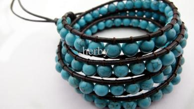 New Styles Of Casual Bracelets Made From Turquoise 2015