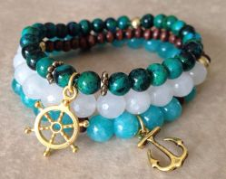 New Styles Of Casual Bracelets Made From Turquoise 2015 2