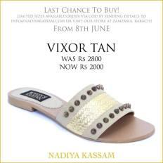 Eid Footwear Chappal For Girls Designed By Nadiya Kassam 2015 15