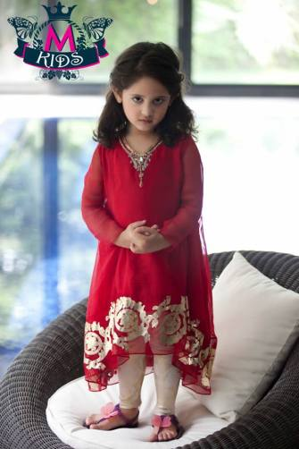 Little Girls Stylish Party Wear Dresses Pics Of 2015 11