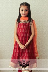 Little Girls Stylish Party Wear Dresses Pics Of 2015 14