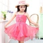 Little Girls Stylish Party Wear Dresses Pics Of 2015 3