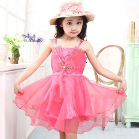 Little Girls Stylish Party Wear Dresses Pics Of 2015 3