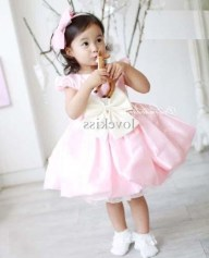 Little Girls Stylish Party Wear Dresses Pics Of 2015 6