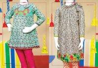 Angrakha Style Eid Kids Wear Dresses By Junaid Jamshed 2015 10