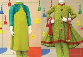 Angrakha Style Eid Kids Wear Dresses By Junaid Jamshed 2015 7