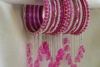 Beautiful Eid Bangles Bracelet Jewellery Designs For Girls 2015