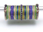 Beautiful Eid Bangles Bracelet Jewellery Designs For Girls 2015 7