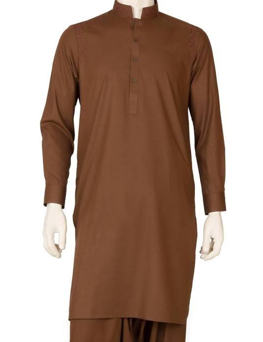 Eid Kurta Plain Designs For Men By Cambridge 2015 4