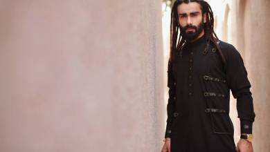 Eid Wear Casual Men Kurta Designs By Arslan Iqbal 2015