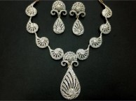 Elegant Diamond Jewellery Set Designs For 2015-16 Parites 2
