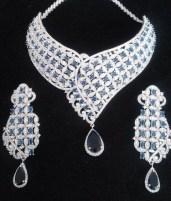 Elegant Diamond Jewellery Set Designs For 2015-16 Parites 6