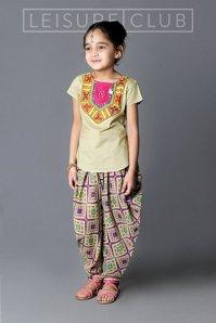 Midsummer Patiala Salwar For Kids By Leisure Club 2015-16 2