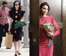 animal skin handbag