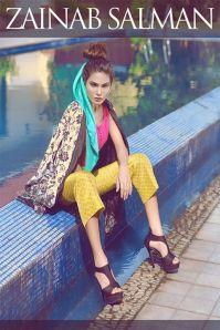 Autumn Pret Eid Wear By Zainab Salman 2015-16 24
