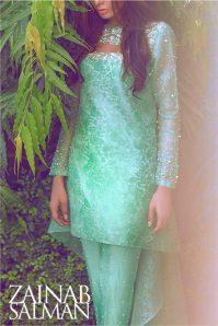 Autumn Pret Eid Wear By Zainab Salman 2015-16 9