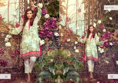 Digital Pret Kurtis Eid Wear Ideas Collection By Gul Ahmed 2015-16 12