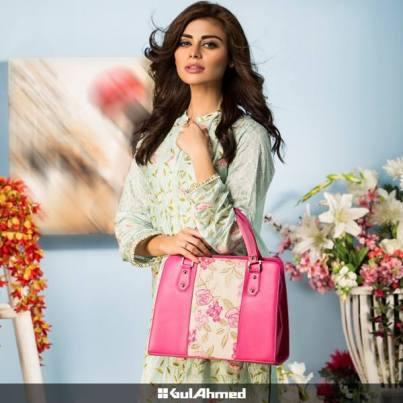 shalwar kameez with handbag