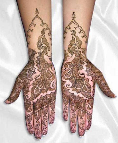 Eid Ul Azha Hand Mehndi Designs For Young Girsl 2015-16 10