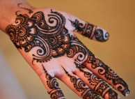 Eid Ul Azha Hand Mehndi Designs For Young Girsl 2015-16 13