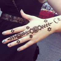 Eid Ul Azha Hand Mehndi Designs For Young Girsl 2015-16 3