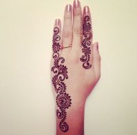 Eid Ul Azha Hand Mehndi Designs For Young Girsl 2015-16 4