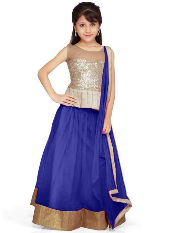 lehnga dress for kids