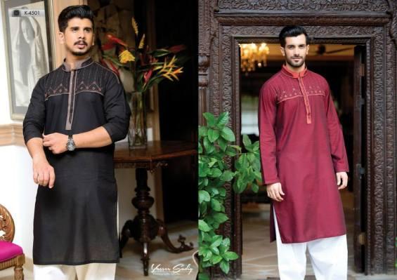 Eid Ul Azha Men Kurta Shalwar By Aizaz Zafar 2015-16 1