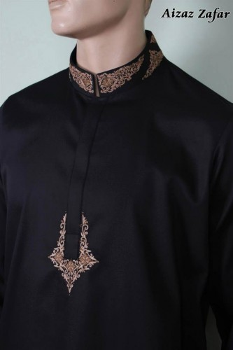 Eid Ul Azha Men Kurta Shalwar By Aizaz Zafar 2015-16
