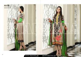 Embroidered Linen Eid Wear Dresses By Charizma 2015-16 120