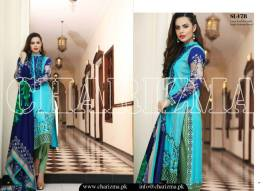 Embroidered Linen Eid Wear Dresses By Charizma 2015-16 17