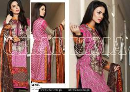 Embroidered Linen Eid Wear Dresses By Charizma 2015-16 21