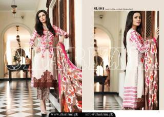 Embroidered Linen Eid Wear Dresses By Charizma 2015-16 7