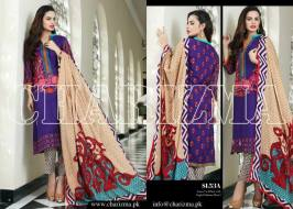 Embroidered Linen Eid Wear Dresses By Charizma 2015-16 9