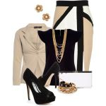 Fall Formal Outfits Polyvore Combos For Business Women 2015-16 7