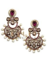 Indian Earrings Jewelry By Kalki Fashion 2015-16 2