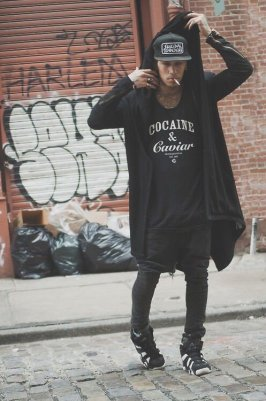 hip hop style clothing