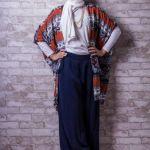 Winter Maxi Dresses With Hijab Fashion Trend 2015-16 5