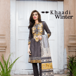 3 Piece Embroidered Printed Collection By Khaadi 2015 2