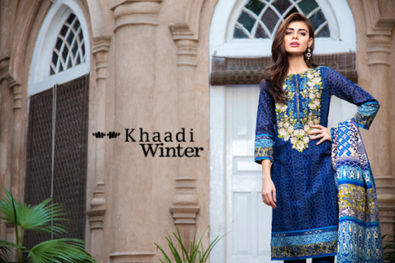 3 Piece Embroidered Printed Collection By Khaadi 2015 6