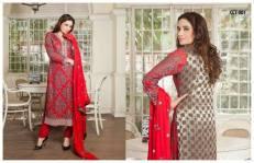 Banarasi Shalwar Kameez Collection By Tawakal Fabrics 2015-16 6