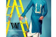 Casual Kurta Winter Designs By Wajahat Mansoor 2015-16