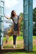 Embroidered Cotton Polyester Shalwar Kameez By Khaadi 2015 6