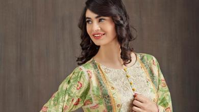 Floral Printed Kurtis For Winter By Happa Studios 2015-16