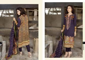 Gloria Linen Dresses For Women By Rashid Textiles 2015-16 15