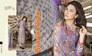 Gloria Linen Dresses For Women By Rashid Textiles 2015-16 8