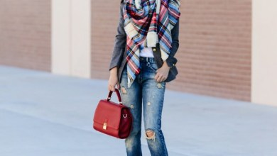 How To Do Winter Scarf Styling With Casual Outfits